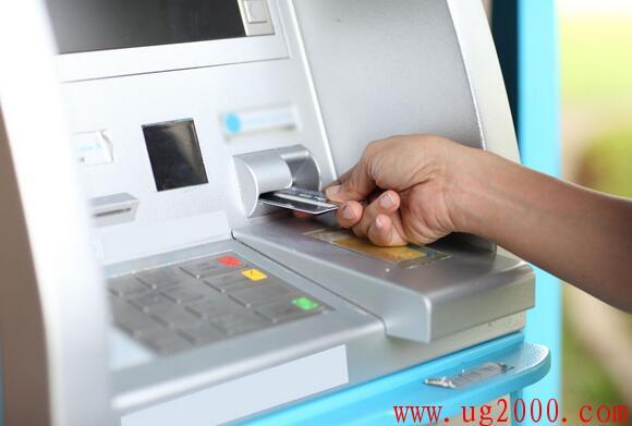 自动取款机转账步骤