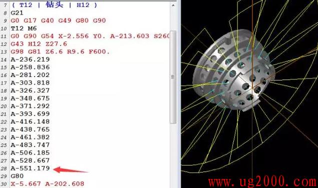 mastercamX9版本软件里面限制后处理A轴角度范围