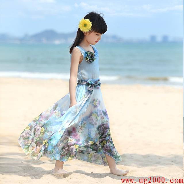 六一儿童节宝宝穿上公主裙,就是夏日里最美丽的一朵花,美美的么么哒