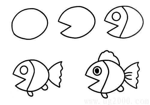 5分钟教会孩子画小动物