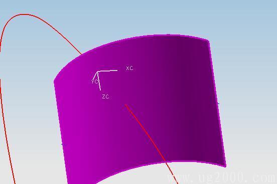 ug4.0中怎么求曲面与曲线的交点