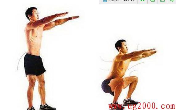 深蹲和俯卧撑-是男人就该长期坚持练