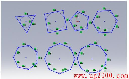 solidworks草图绘制之多边形