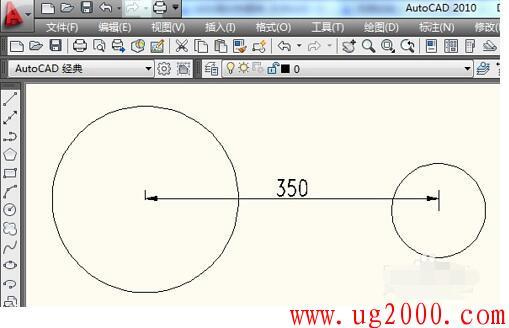 CAD软件中偏移工具怎么用???