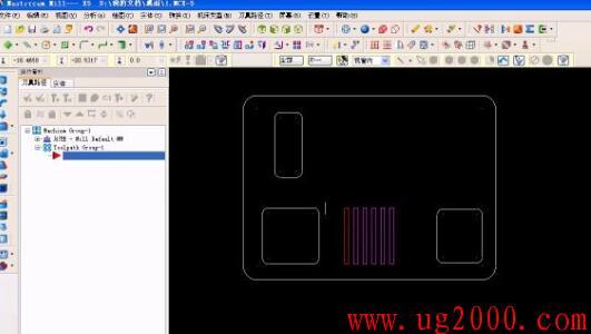 mastercamx5视频教程之电话机外壳的造型设计