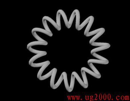 在AutoCAD中电话绳的画法