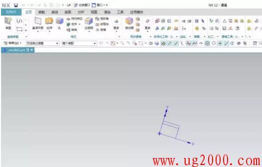 NX UG12.0经典界面的调出方法!
