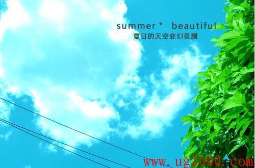 形容夏天美丽的句子_好词好句