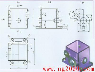 ug10.0教程之NX10 入门图文教程——齿轮箱体