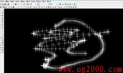 cad,CAXA 鼠标划过,屏幕上会留下一串十字光标,重影
