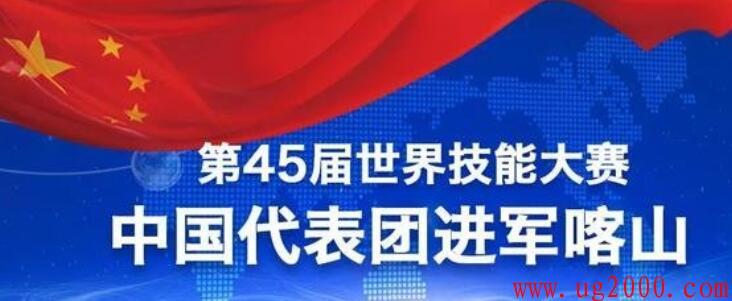 第45届世界技能大赛中国代表团