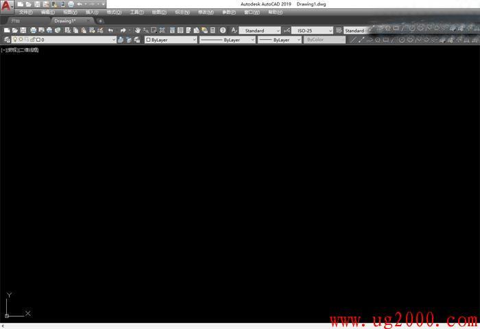 AutoCAD 2019 怎么设置经典模式(经典界面)?
