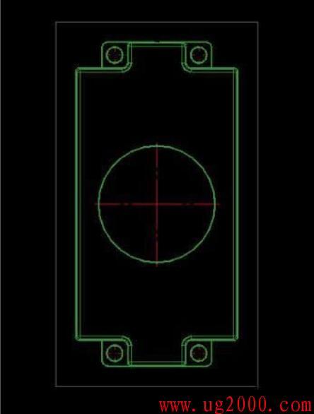 UG制图中中心线的设置