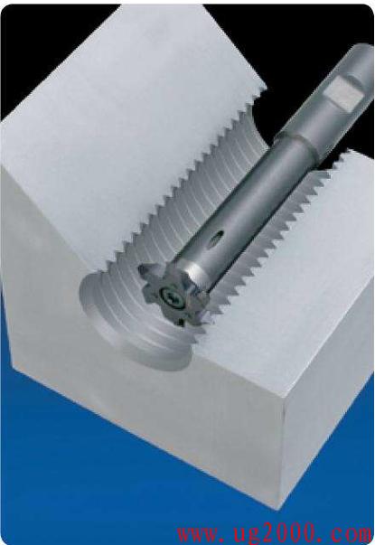 机械加工之螺纹铣牙刀的优点分析