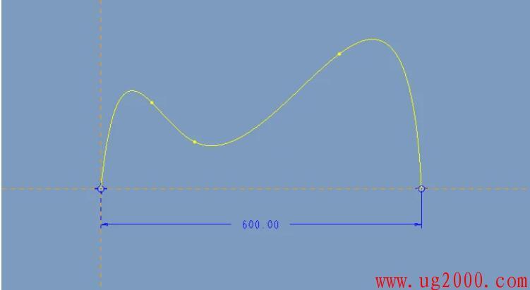 Proe/Creo样条曲线标注尺寸方法总结