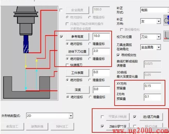 mastercam9.1加工模板的设置