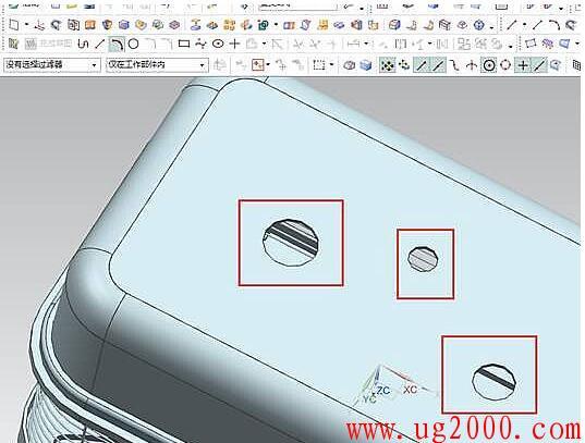 UGNX10解决圆显示不圆、锯齿效应的技巧