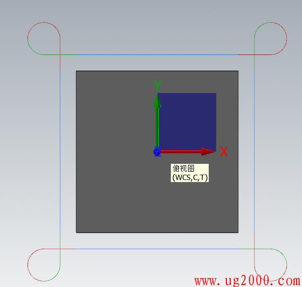 mastercam2D铣外形转角处如何保证图形尖角