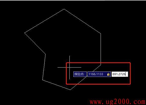 CAD里面如何找出不规则图形质心,重心?