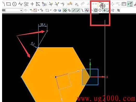 UGNX10.0点在线串上使用
